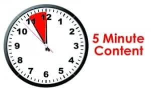 5-minute-content